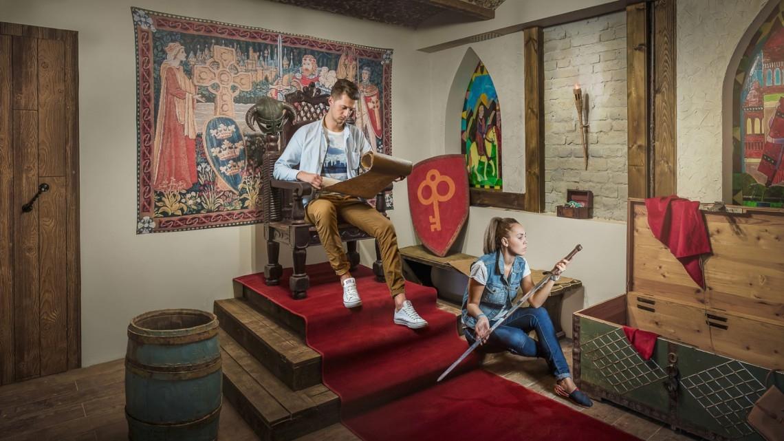 Квест Средневековый замок - Клаустрофобия - Москва - Отзывы и бронирование