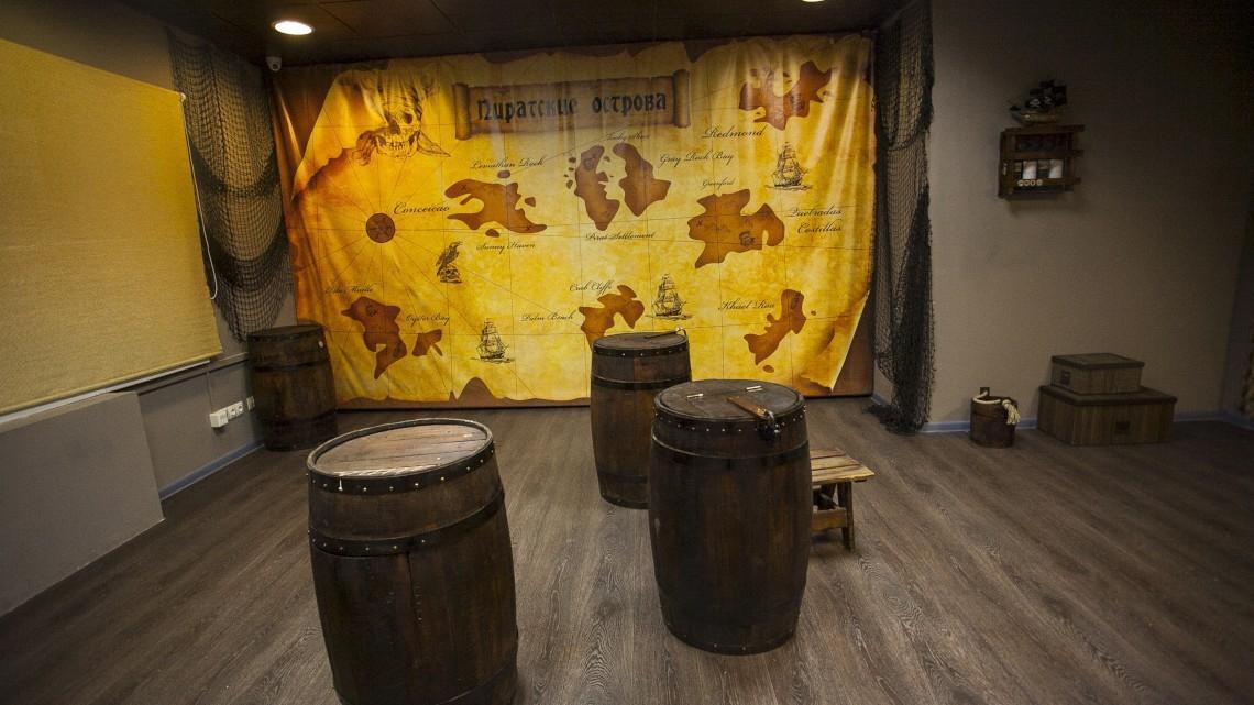 Квест Логово пиратов - RR Quest - Екатеринбург - Отзывы и бронирование
