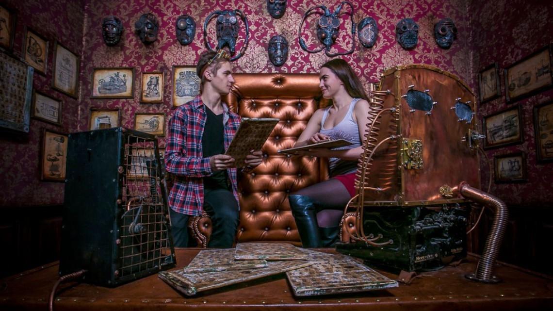 Квест Стимпанк Буратино - Серьёзные игры - Москва - Отзывы и бронирование