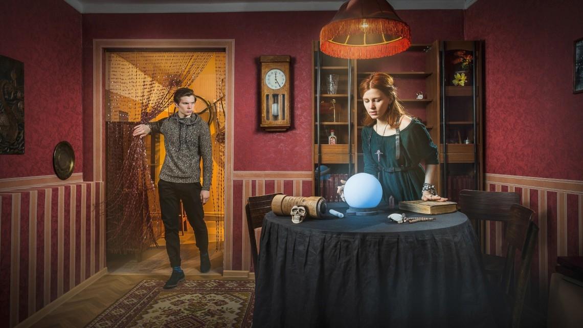 Квест Спиритический сеанс - Клаустрофобия - Санкт-Петербург - Отзывы и бронирование