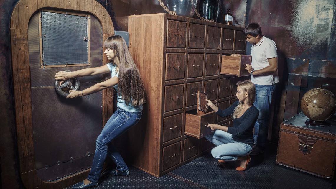 Квест Наутилус капитана Немо - Ловушка - Нижний Новгород - Отзывы и бронирование