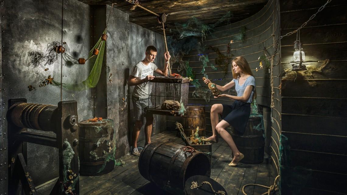 Квест Сокровища затонувшего корабля - Клаустрофобия - Тула - Отзывы и бронирование