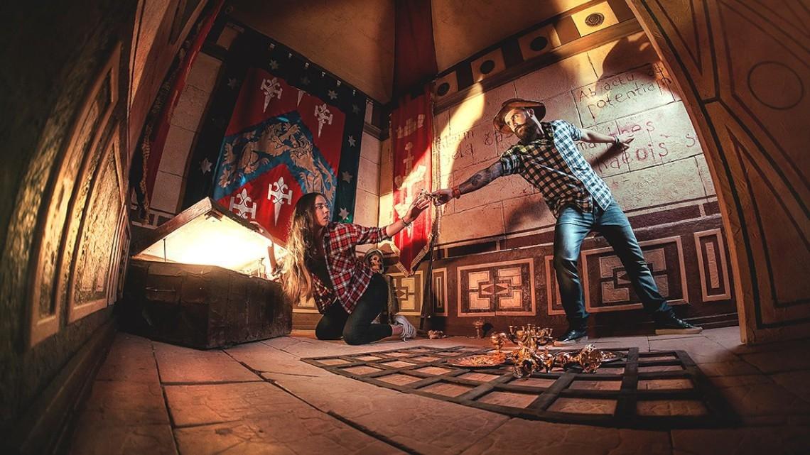 Квест Индиана Джонс и храм иллюминатов - ARMAGAMES - Москва - Отзывы и бронирование