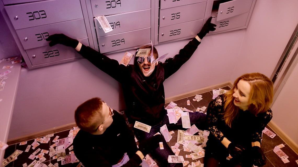 Квест Ограбление банка - Игры разума - Санкт-Петербург - Отзывы и бронирование