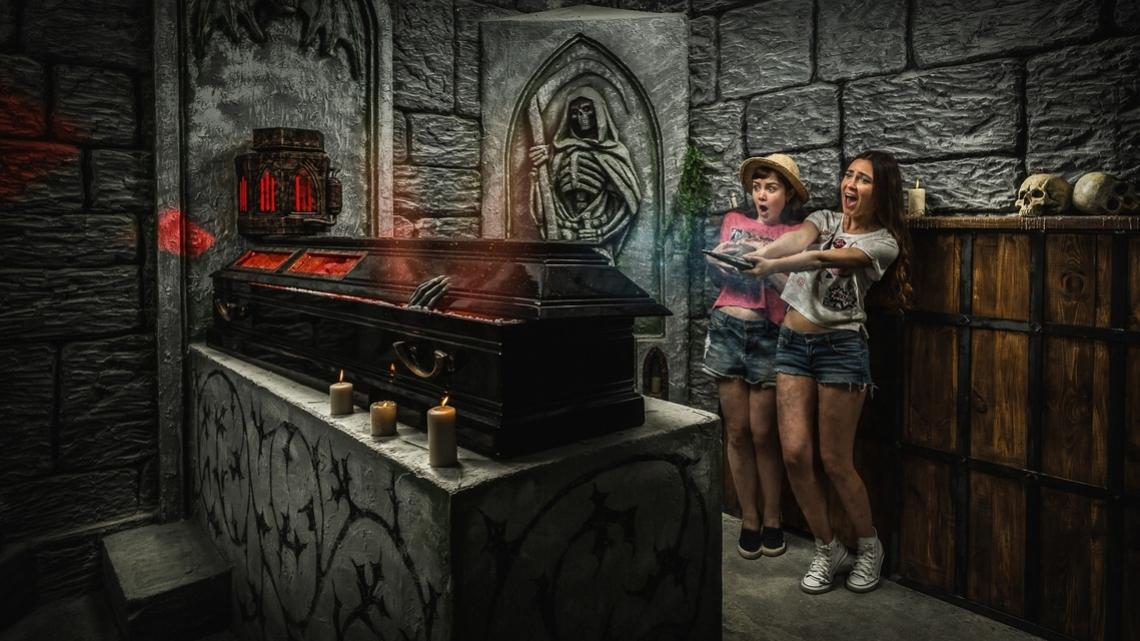 Квест Сага о Вампире - Клаустрофобия - Москва - Отзывы и бронирование