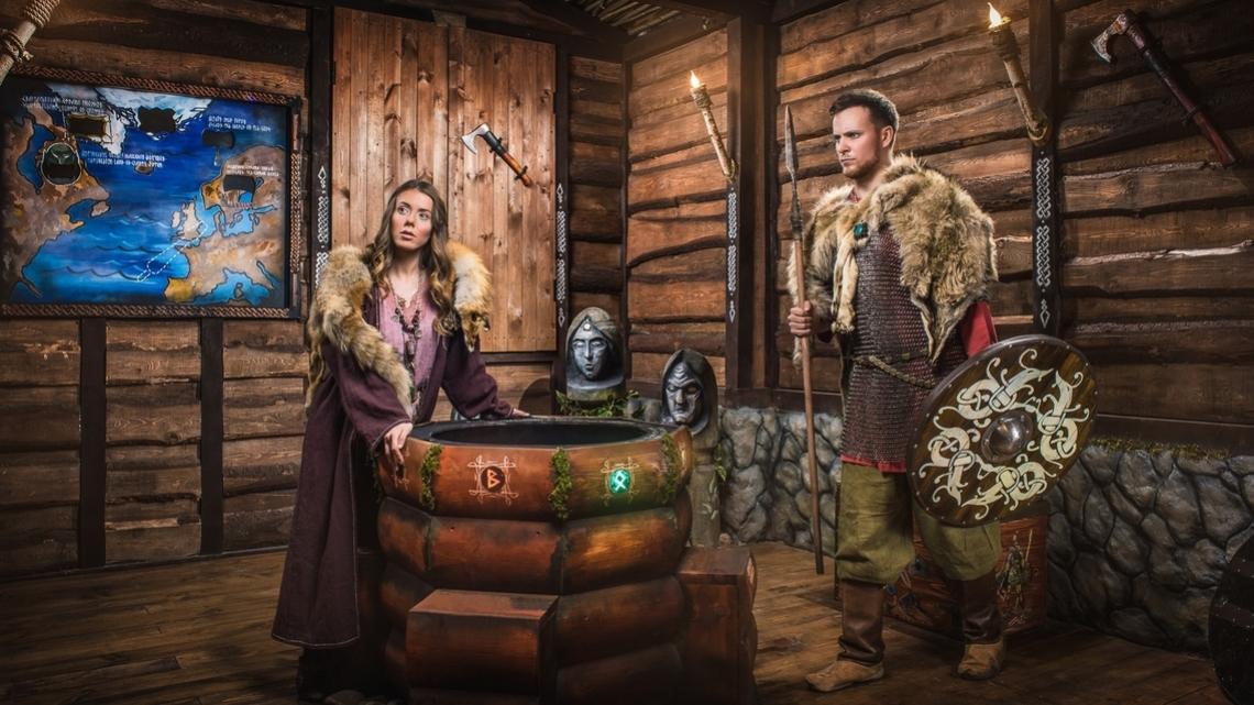 Квест Путь викингов - Клаустрофобия - Королёв - Отзывы и бронирование