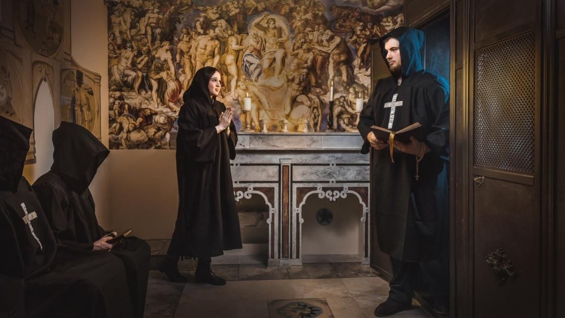 Квест Тайна древнего ордена - Клаустрофобия - Химки - Отзывы и бронирование