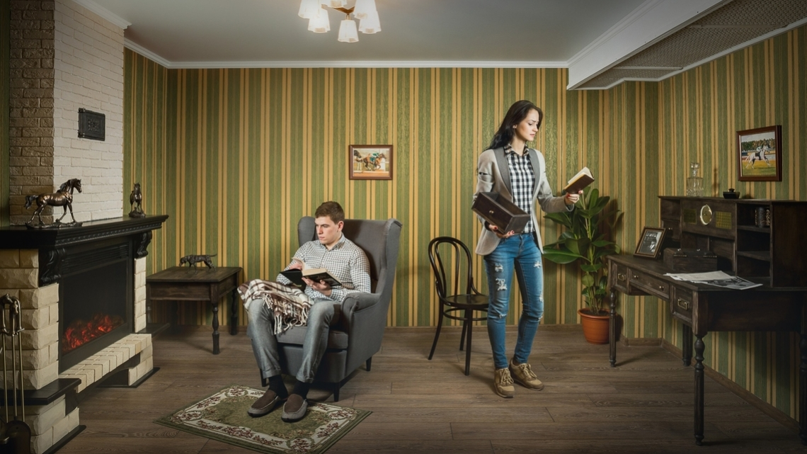 Квест Детективная история: идеальное ограбление - Клаустрофобия - Тюмень - Отзывы и бронирование