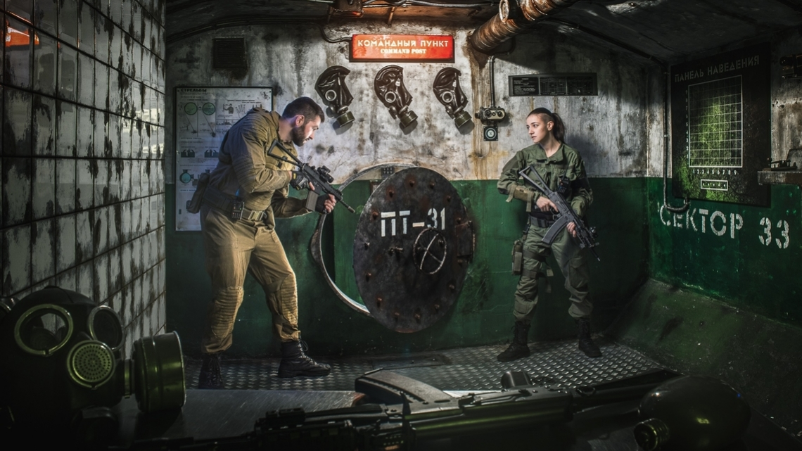 Квест Бункер №1 - Клаустрофобия - Москва - Отзывы и бронирование