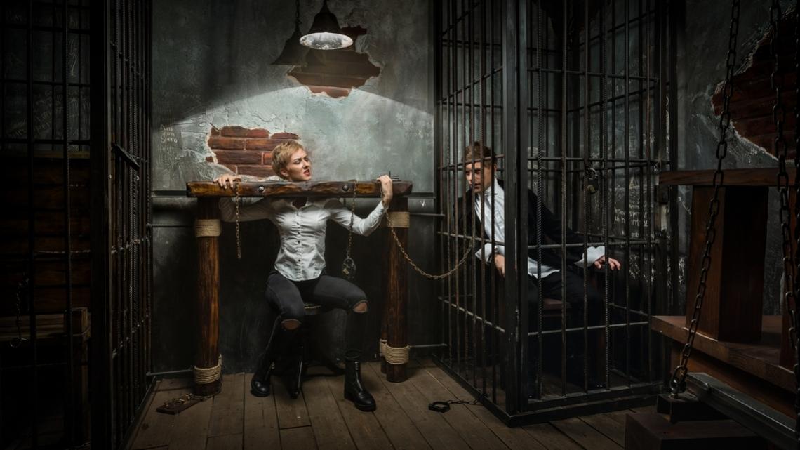 Квест Побег Гудини - Клаустрофобия - Санкт-Петербург - Отзывы и бронирование