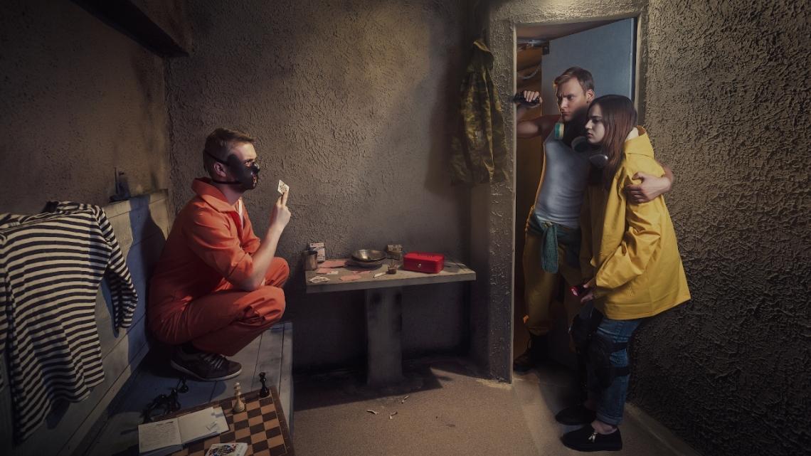 Квест Инстинкт - Шокотерапия - Москва - Отзывы и бронирование